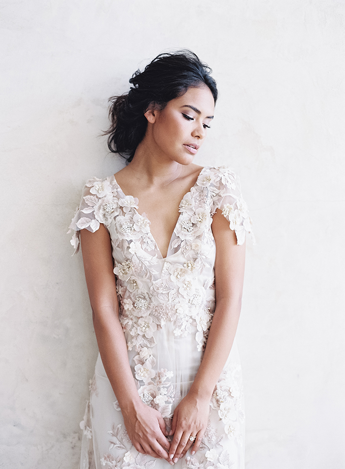 Beauty For A Blush Bride