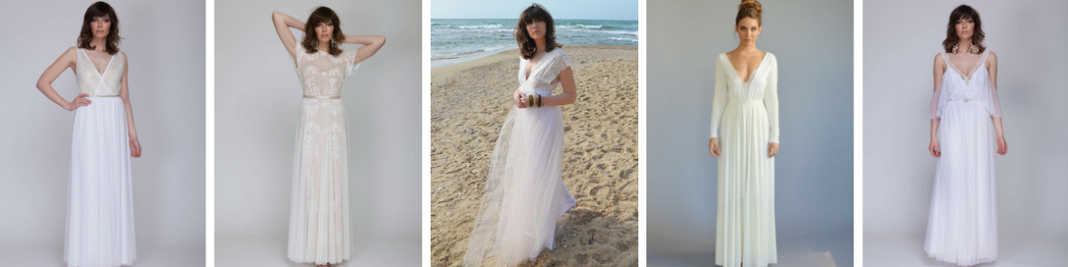 Looking for a truly unique and even handmade wedding gown? Consider the 100s of talented Etsy wedding dress designers available at the tip of your fingers, including Barzelai.