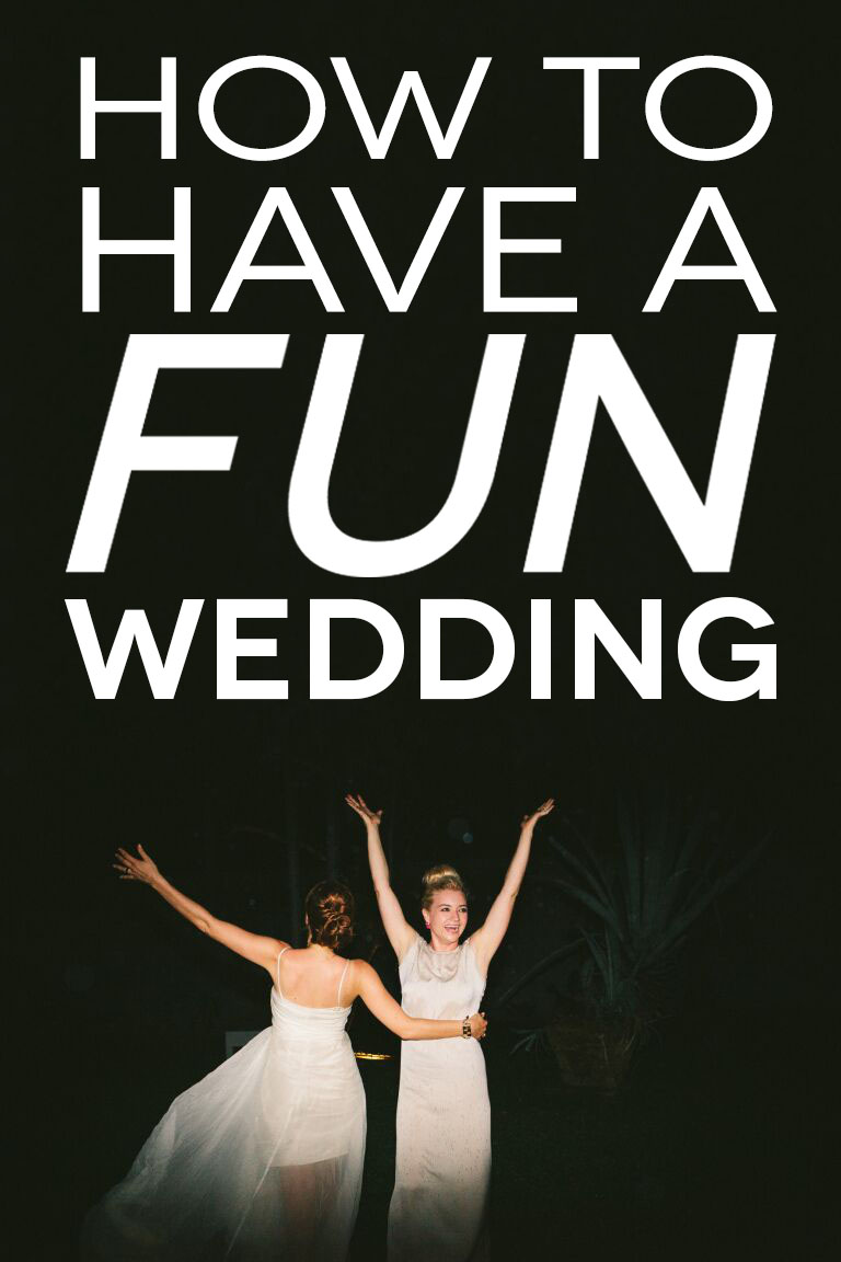 A happy couple dancing and using many fun wedding ideas at their wedding