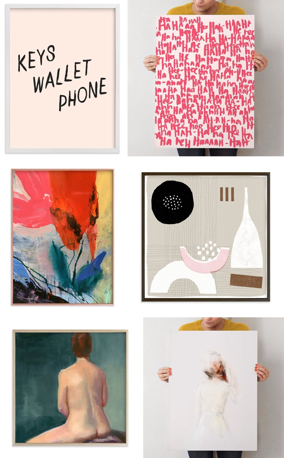 Minted Examples of Cards - 6 panels