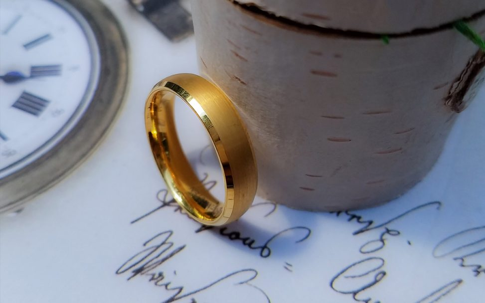 The CEO manly bands ring