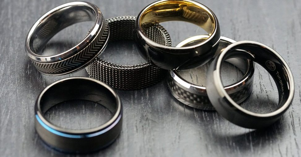 set of 6 manly bands